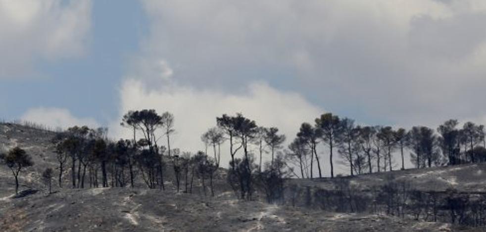 Extinguido el incendio de la Sierra Calderona tras 21 días activo