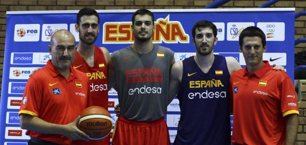 Valencia Basket | La selección ya carbura con sus cinco taronjas