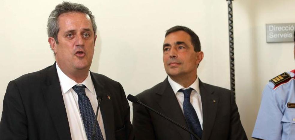 El conseller de Interior catalán asegura que los Mossos cumplirán la ley y permitirán votar el 1-O