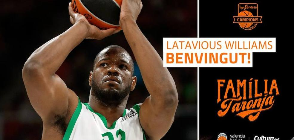 El Valencia Basket ficha a Latavious Williams