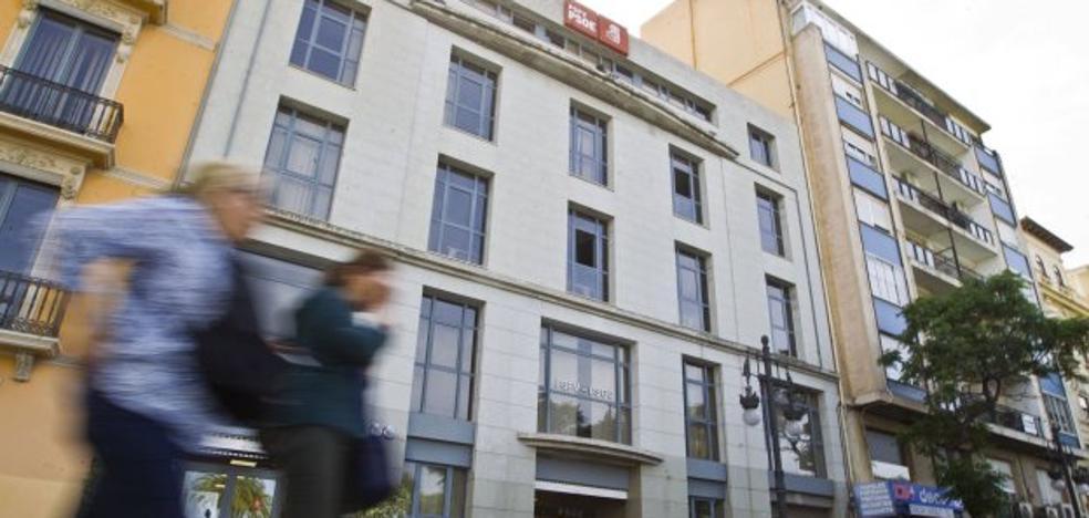 Ferraz frena la venta de la sede de Blanquerías del PSPV tras recibir ofertas mejores