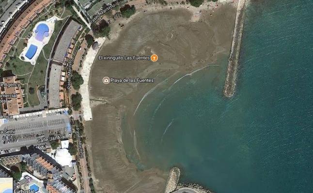 Vuelven a cerrar al baño la playa de Las Fuentes de Alcossebre por contaminación