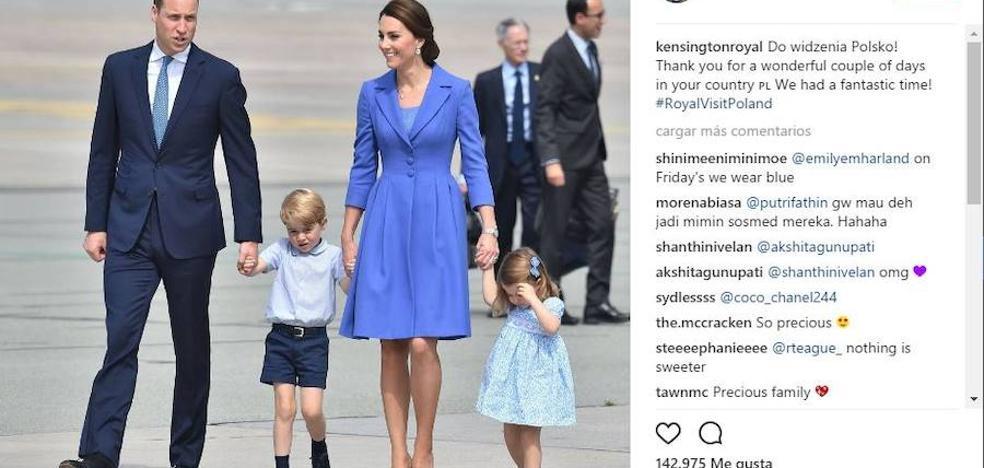 La camisa 'made in Spain' del príncipe George, agotada en las tiendas