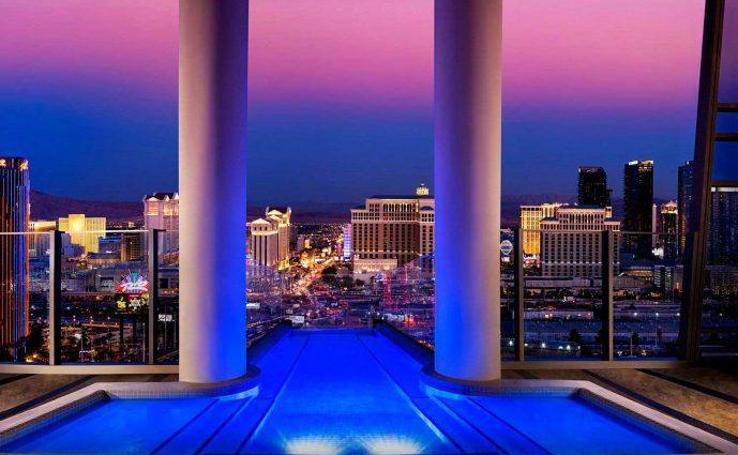 Fotografías de las 10 suites más lujosas en Las Vegas