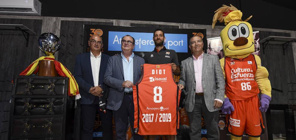 Antoine Diot: «Me reconozco en los valores del Valencia Basket»