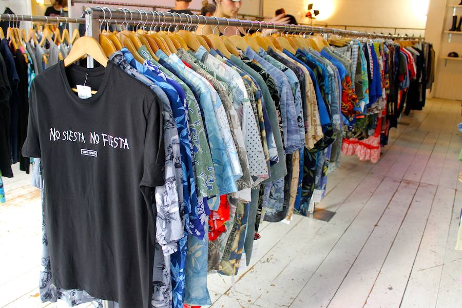 Fotos de tiendas 'slow-fashion' en Valencia
