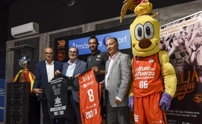 Valencia Basket | Diot se muestra ambicioso: «Somos el equipo a batir»