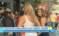 Andrea Janeiro celebra sus 18 años con un fiestón por todo lo alto