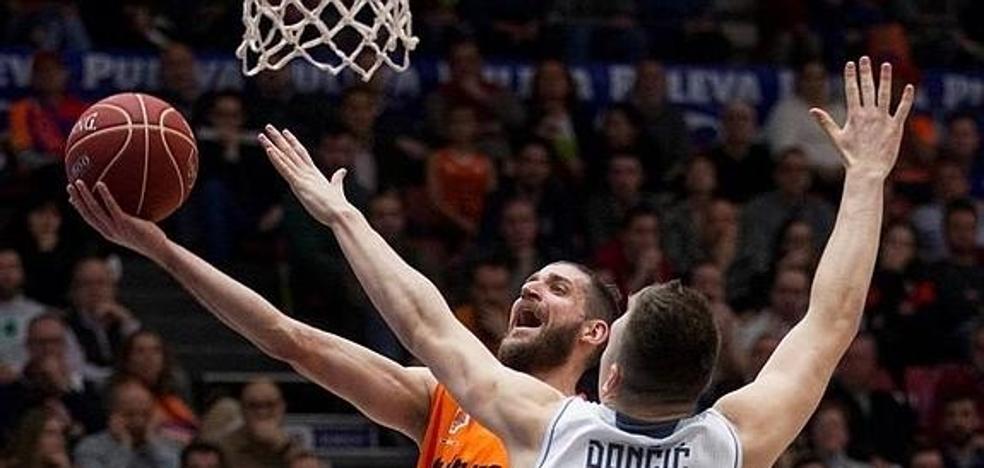 El Valencia Basket jugará la mayoría de sus partidos de local en la Euroliga a las 20:30 horas