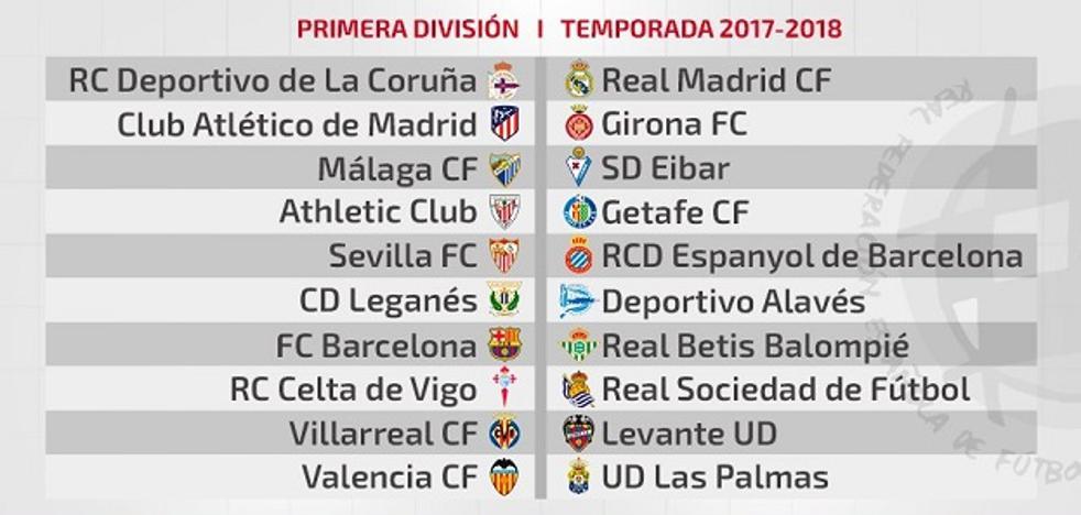 Valencia CF - Las Palmas y Levante UD - Villarreal en la primera jornada de La Liga