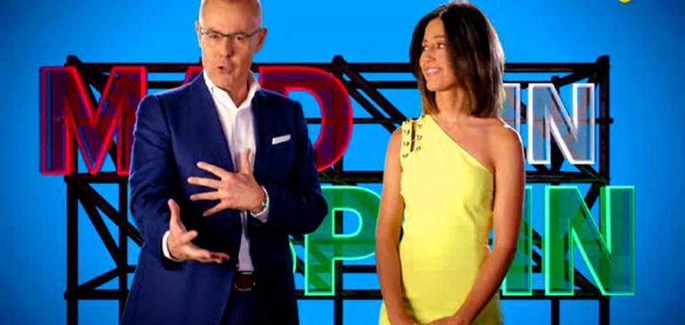 Lucía Etxebarría, Cristina López Schlichting, el cantante Francisco y Teresa Bueyes, en el debate de 'Mad in Spain'