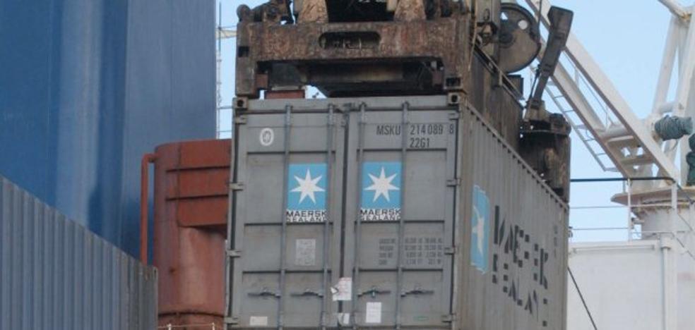 La caída de contenedores en el Puerto de Valencia causará 500 contrataciones menos