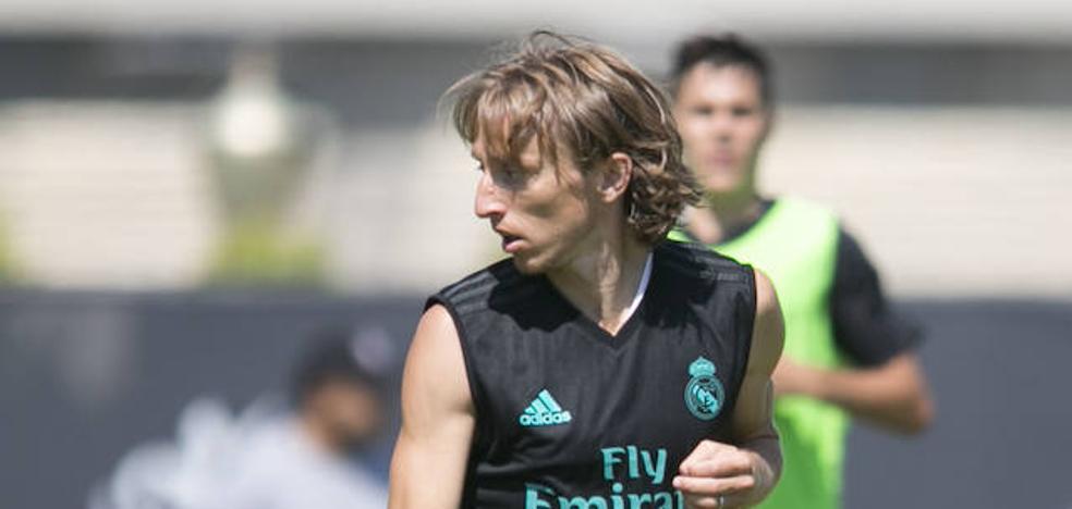 Modric será el '10' del Real Madrid
