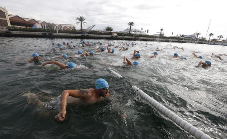 Fotos de la Travesía a Nado al Puerto de Valencia