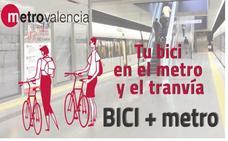BiciMetro: Normas para viajar con bici en Metrovalencia