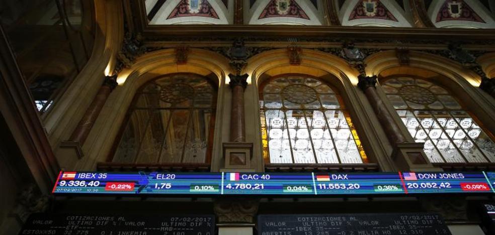 La banca impulsa al Ibex-35 hasta los 10.446 puntos