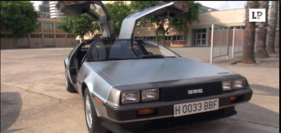 El coche de Regreso al Futuro está aparcado en Valencia