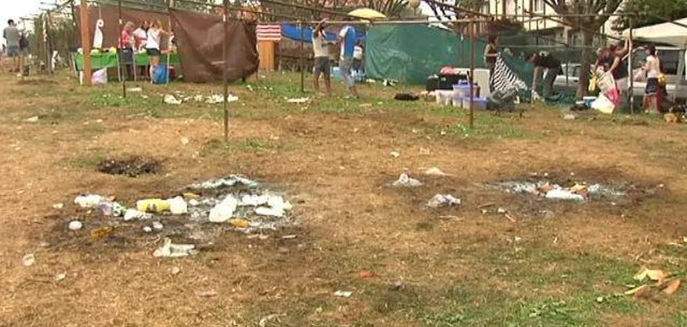 Una explosión en un concurso de paellas deja heridas a cinco personas