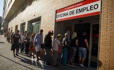 Los trabajadores afectados por ERE bajan un 38,4% hasta mayo