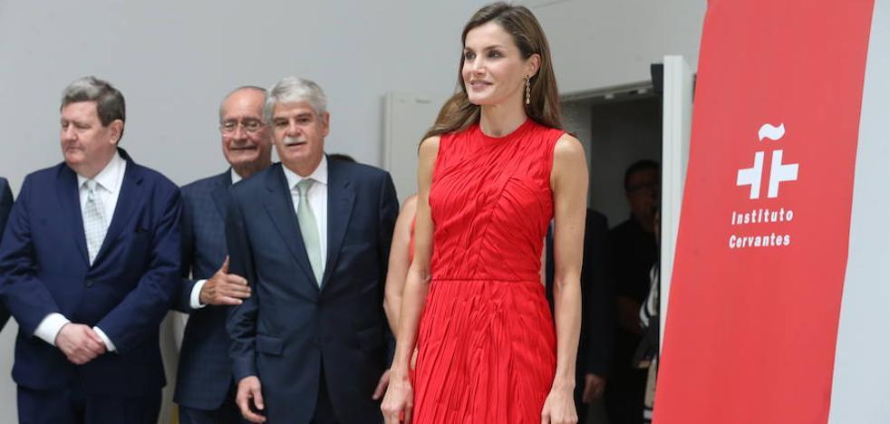 La reina Letizia inaugura la reunión del Instituto Cervantes en Málaga