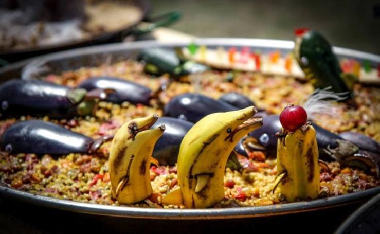 Fotos del concurso de paellas de Aixerrota