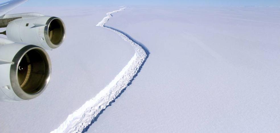 La ruptura del iceberg en la Antártida no fue causada por el cambio climático