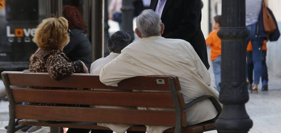 La pensión media de los valencianos sube un 2% en un año