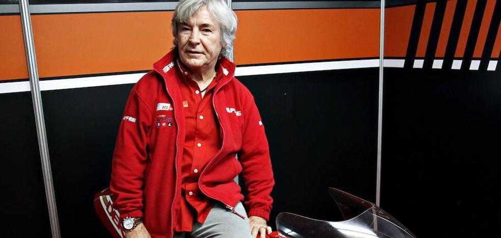 Ángel Nieto, grave tras sufrir un accidente con un quad