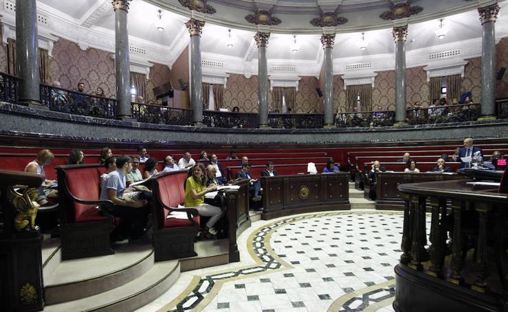 Fotografías del Pleno del Ayuntamiento