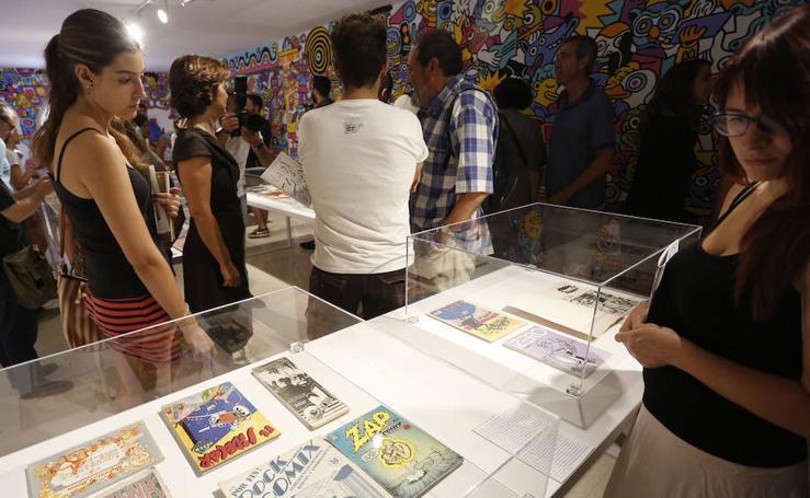 Fotos de la exposición en el IVAM sobre el fanzine