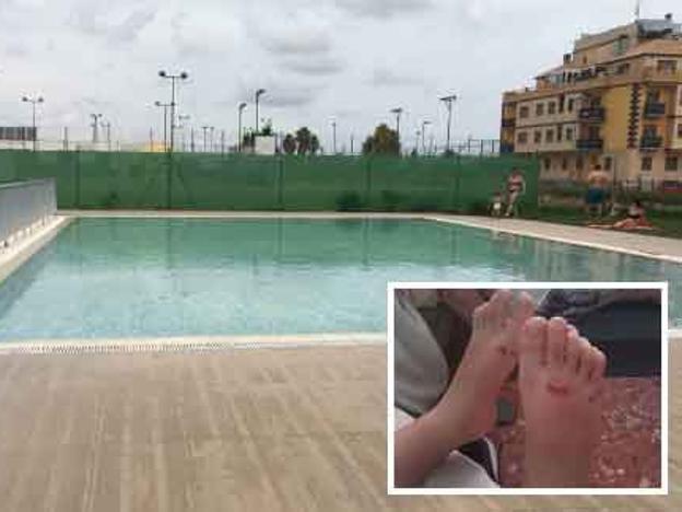 Usuarios denuncian el mal estado de la piscina de verano for Piscina julio navarro