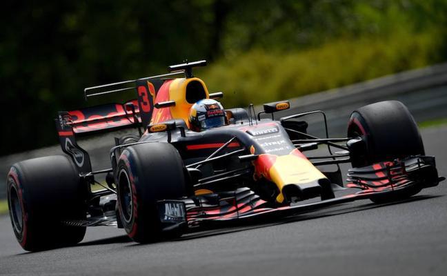 Ricciardo, loco por incordiar