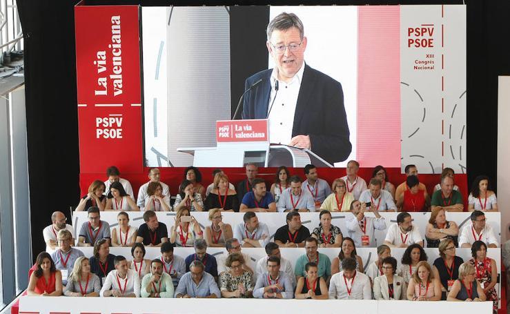 Fotos de la clausura del XIII Ccongreso del PSPV-PSOE