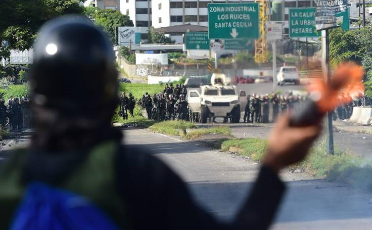 Explosión de violencia en Venezuela