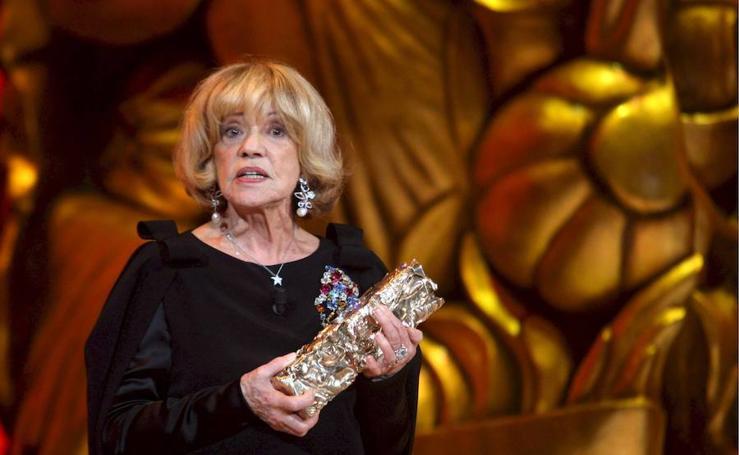 Jeanne Moreau, la dama de cine francesa