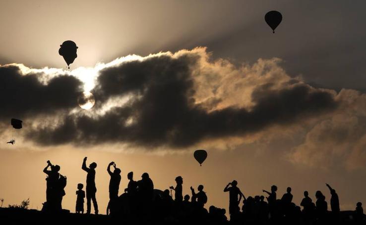 Fotos del Festival Internacional de Globos de Aire Caliente en Gilboa