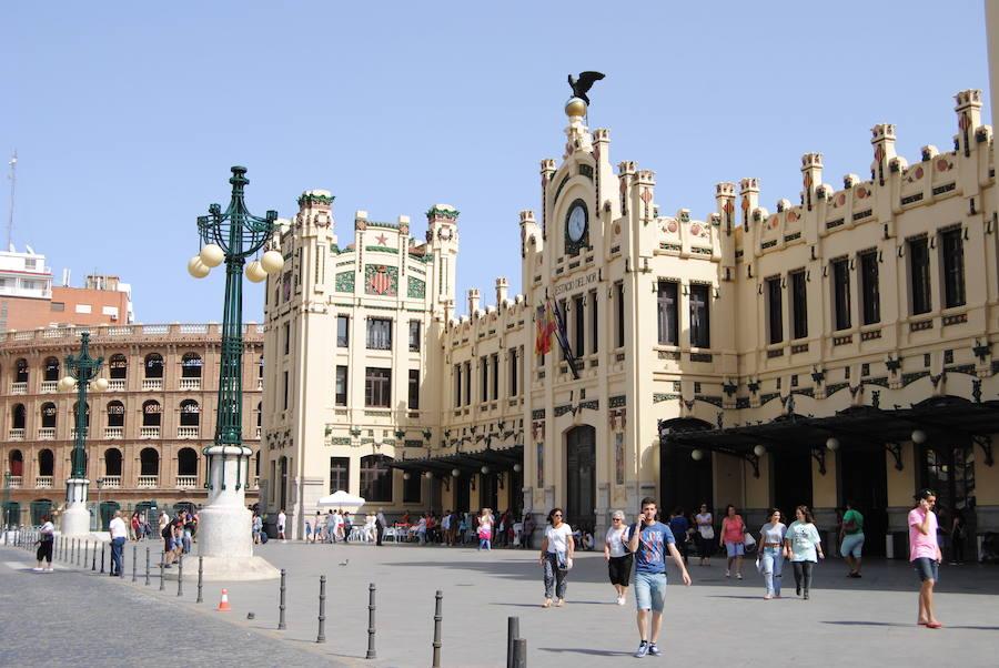 Fotos de la Estación del Norte de Valencia
