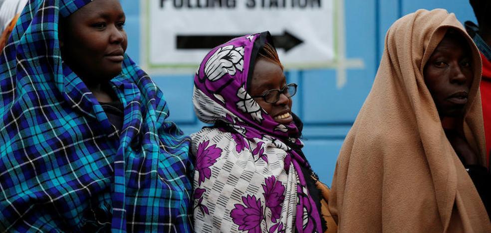 Kenia celebra sus elecciones presidenciales entre un clima de tensión