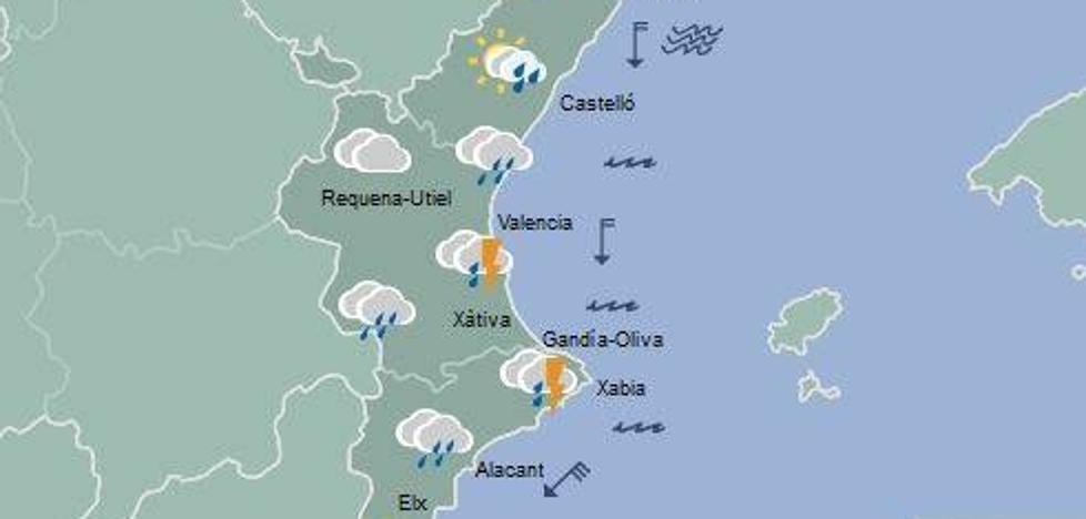 El tiempo en valencia alicante y castell n chubascos - El tiempo torreblanca castellon ...