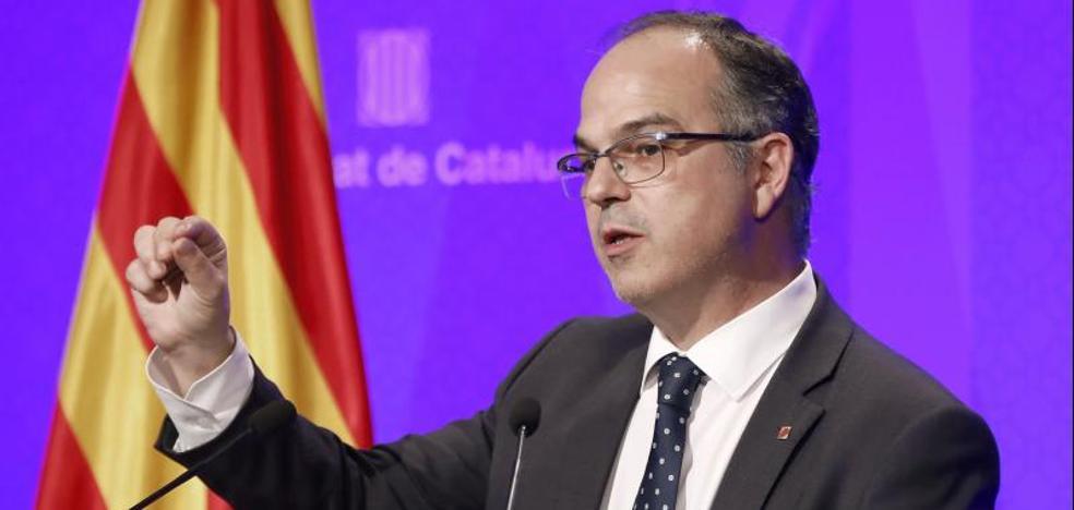 Turull advierte a Rajoy de que ningún «ofertón» de inversiones frenará el referéndum