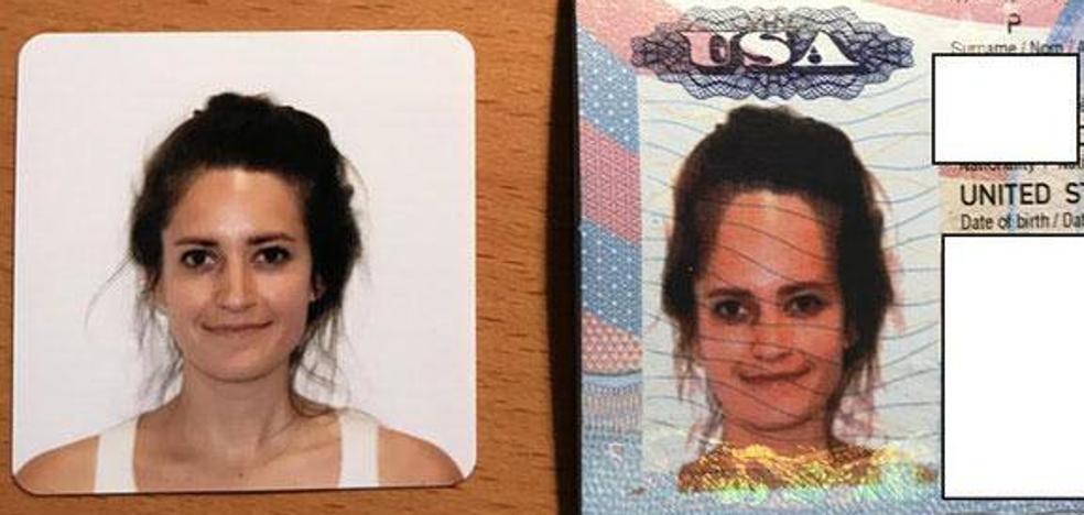 La fotografía de su pasaporte estaba tan deformada que le enviaron uno nuevo