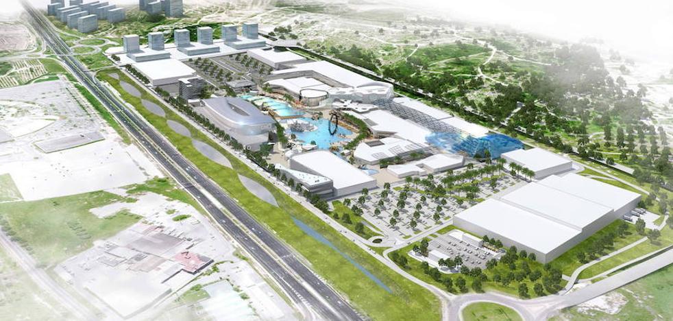 Los promotores de Puerto Mediterráneo proponen una cubierta verde de 200.000 m2