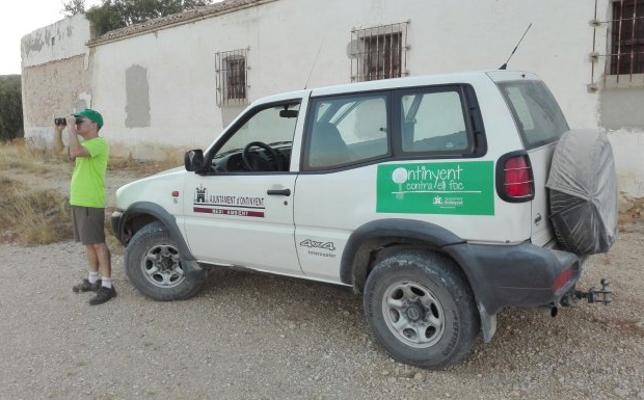 Ontinyent cumple con éxito dos meses de campaña de vigilancia forestal sin incidentes