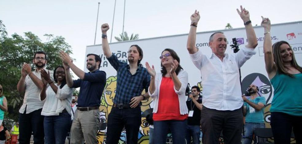 Un tercio de los votantes de A la valenciana nunca apoyaría a Compromís o a Podemos