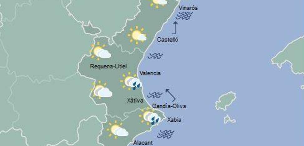 El tiempo en Valencia, Alicante y Castellón | Emergencias da por finalizada la alerta por lluvias en Alicante y Valencia