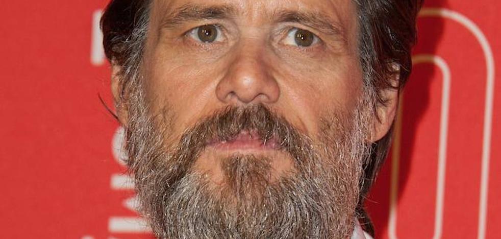 Jim Carrey combate su depresión con la pintura