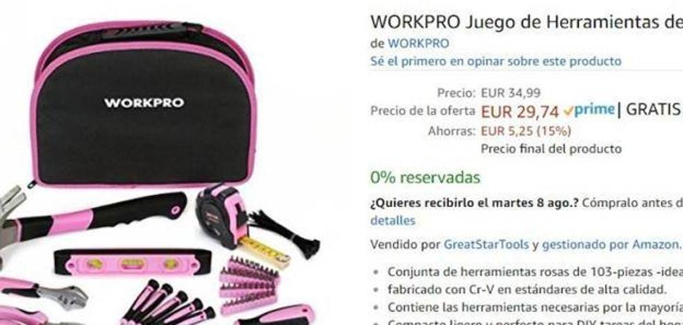 Arden las redes sociales por el «kit de herramientas para señoras»