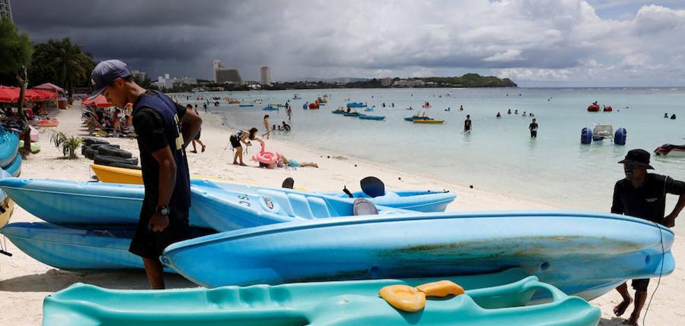 Así es la isla de Guam, amenazada por Corea del Norte