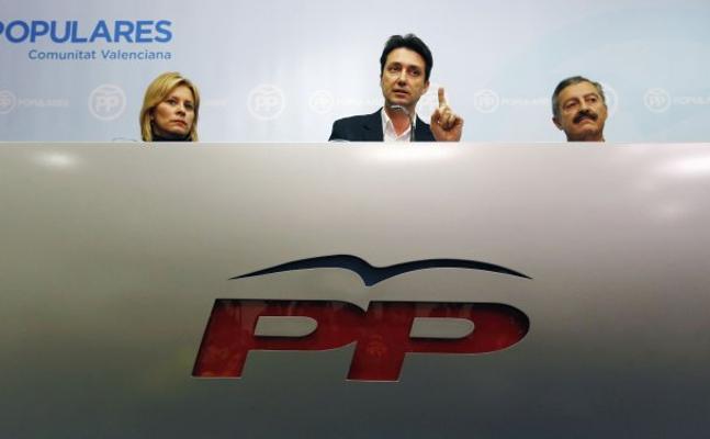 Betoret y Contelles guardan silencio tras el aviso de la gestora del PP de Valencia