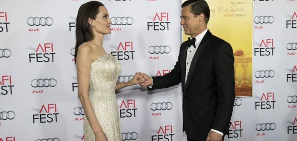 Angelina Jolie congela el divorcio